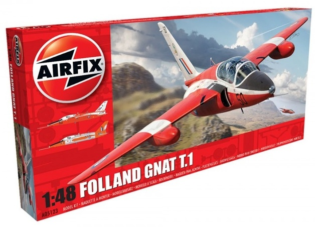 Airfix Folland Gnat T.1 1:48 Model Kit