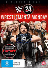 WWE: WWE 24: Wrestlemania Monday on DVD