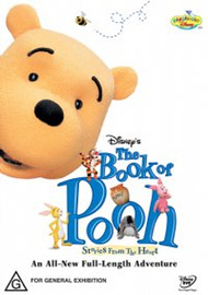 Winnie The Pooh - Book of Pooh - Stories From The Heart on DVD image