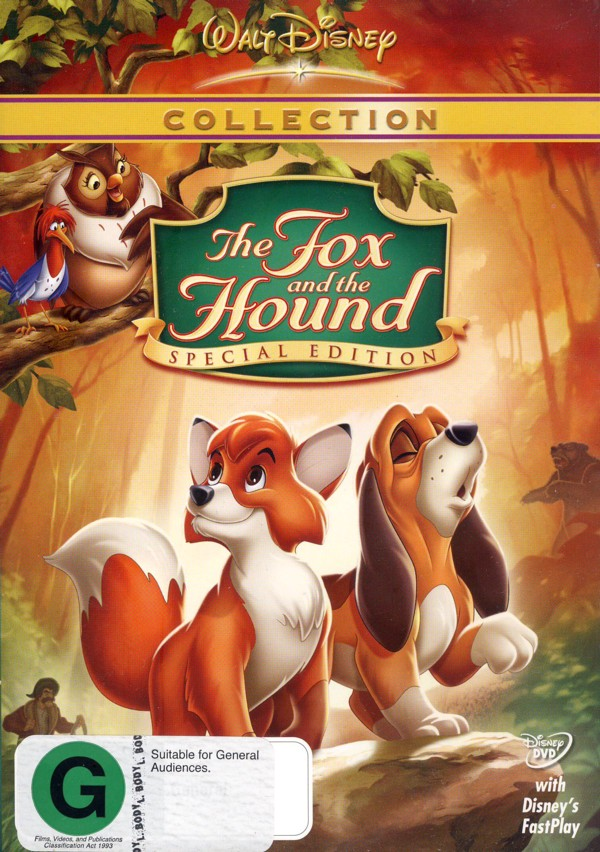 Fox and The Hound (1981) 25th Anniversary Special Edition on DVD image