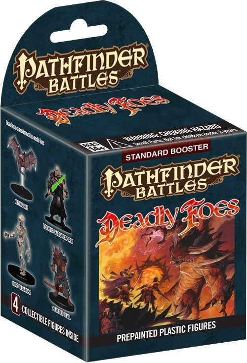 Pathfinder Battles: Deadly Foes Booster Pack