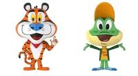 Tony Tiger & Dig Em Frog - Vynl. Figure 2-Pack