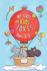 My First Kids Jokes ages 3-5 by Cindy Merrylove image