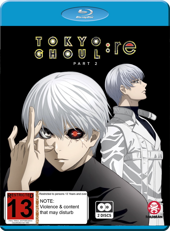 Tokyo Ghoul:Re (Season 3) Part 2 (Eps 13-24) (Blu-ray) on Blu-ray