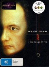 Star Trek - Fan Collective: Q (4 Disc Box Set) on DVD