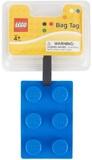 LEGO Stationery - Luggage Bag Tag Brick Shape (Blue)