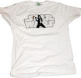 Star Wars - Han Solo Gun Gag Male T-Shirt (Medium)