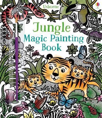 Jungle Magic Painting Book by Sam Taplin image
