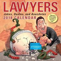 Lawyers 2018 Day-to-Day Calendar by Andrews McMeel Publishing