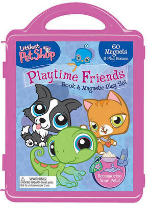 Littlest Pet Shop Playtime Friends Book & Magnetic Play Set