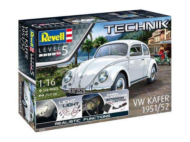 Revell: 1/16 VW Kafer 1951/52 Technik Series Model Kit