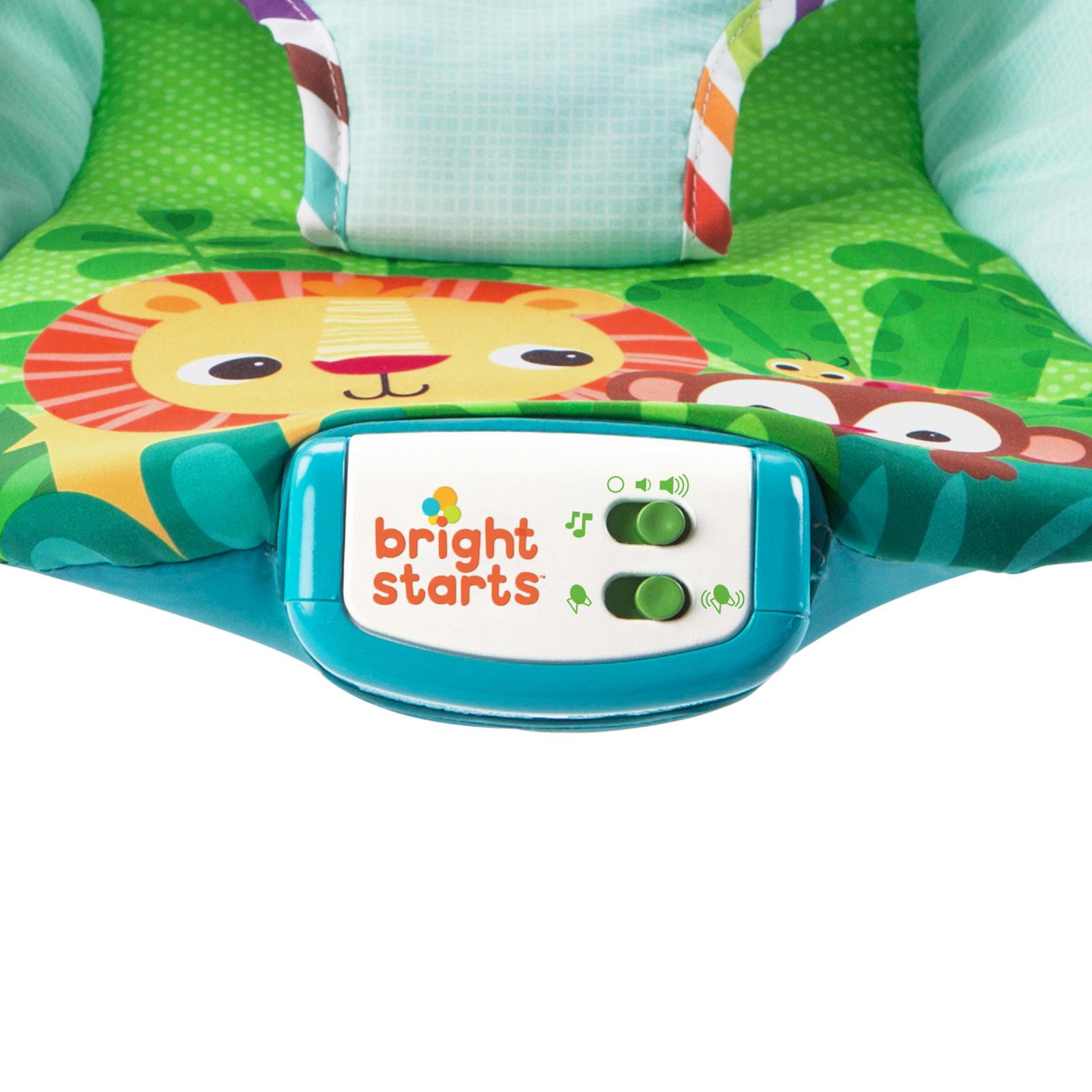 Bright Starts: Giggle & See - Safari Bouncer image
