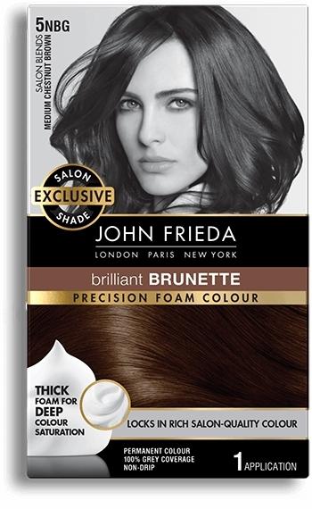 John Frieda Precision Foam Colour - 5NBG (Medium Chestnut Brown)
