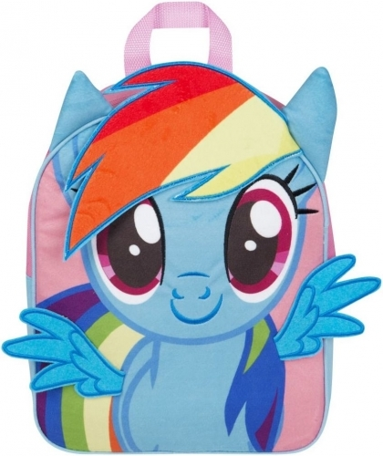 44389e8ee3 My Little Pony  Rainbow Dash - 3D Junior Backpack image ...