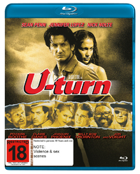 U-Turn on Blu-ray