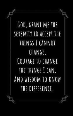 Serenity Prayer by David J Barnett Publishing