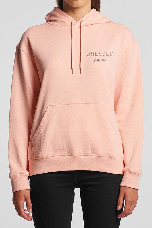 Dressed: Dressed For Me Winter Pale Pink Sweatshirt - Hoody - XL