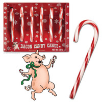 Bacon Candy Canes image
