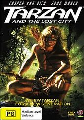 Tarzan And The Lost City (1998) on DVD