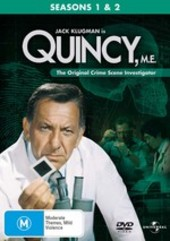 Quincy, M.E. - Seasons 1 And 2 (6 Disc Box Set) on DVD