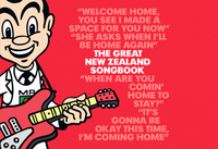 The Great New Zealand Songbook (2CD + 100 Page Book) by Various image