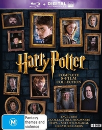 Harry Potter: Complete 8-Film Collection - Limited Edition on Blu-ray