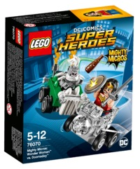 LEGO Super Heroes: Mighty Micros - Wonder Woman vs. Doomsday (76070) image