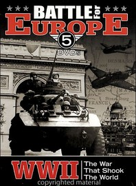 World War II Battle For Europe (5 Disc Set) on DVD image
