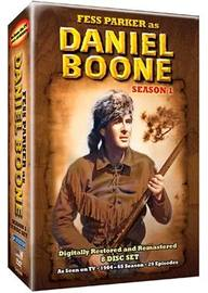 Daniel Boone (1964) - Season 1 (8 Disc Box Set) Black and White on DVD image