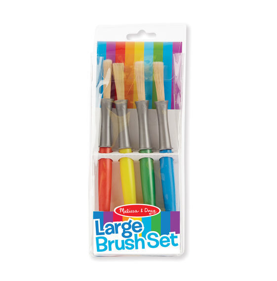 Melissa & Doug: Large Paint Brush Set