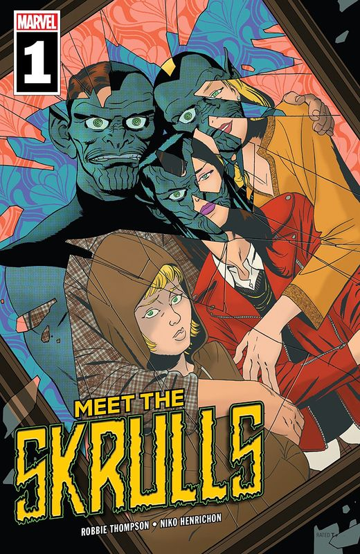Meet The Skrulls - #1 (Cover A) by Marcos Martin