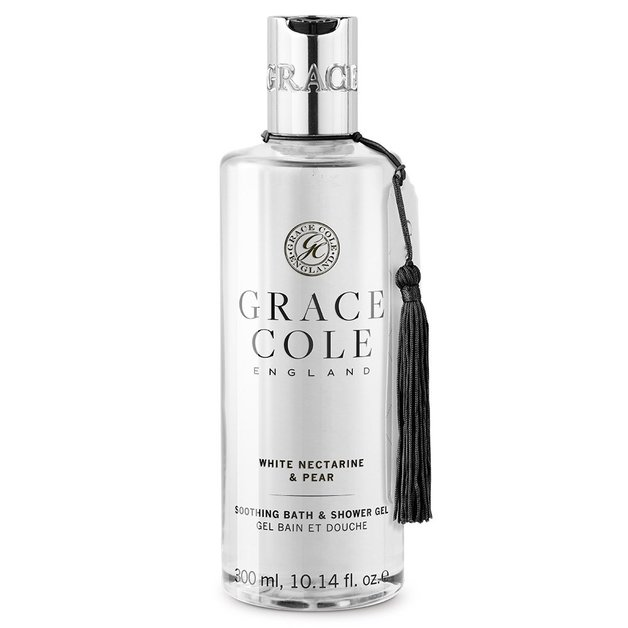 Grace Cole: Bath & Shower Gel - White Nectarine & Pear (300ml)