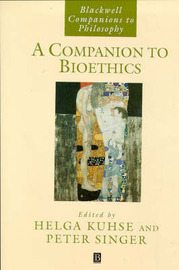 A Companion to Bioethics image