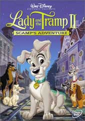 Lady and The Tramp 2: Scamps Adventure on DVD