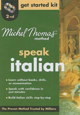 Speak Italian Get Started Kit by Michel Thomas image