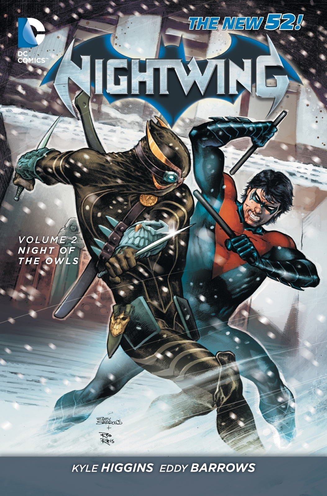 Nightwing Vol. 2 by Kyle Higgins image