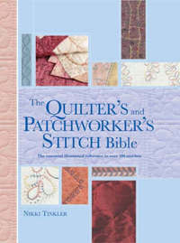 Quilter's and Patchworker's Stitch Bible by Nikki Tinkler image