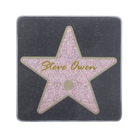 Thumbs Up! Hollywood Star Name Coaster Set