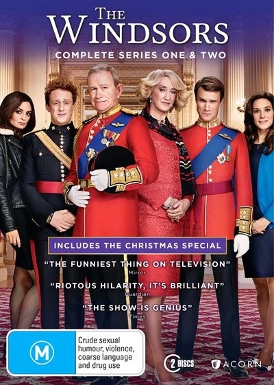 The Windsors - Series 1 & 2 on DVD