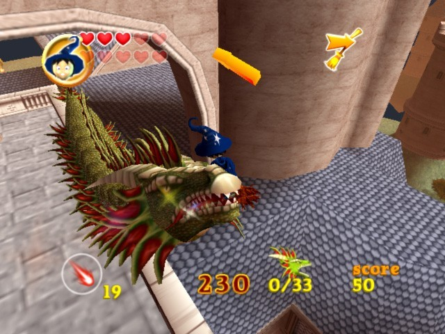 Billy the Wizard Rocket Broomstick Racing for Nintendo Wii image