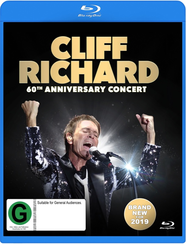 Cliff Richard: 60th Anniversary Concert on Blu-ray