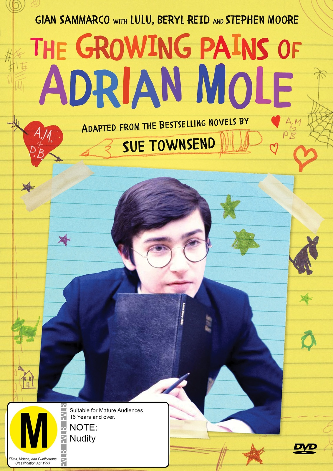 The Growing Pains Of Adrian Mole on DVD image