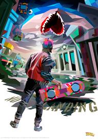 Back to the Future: Premium Art Print - Art Shark image