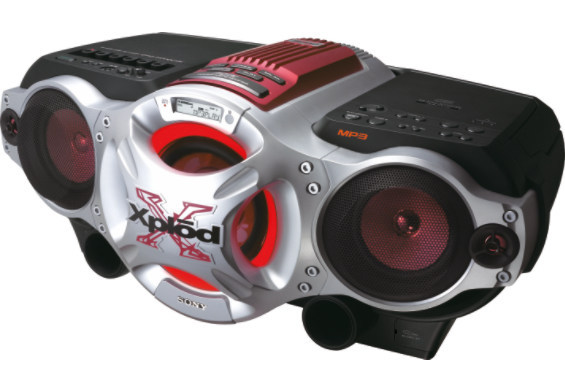Sony CFDG770CPK  CD Radio Cassette Recorder image