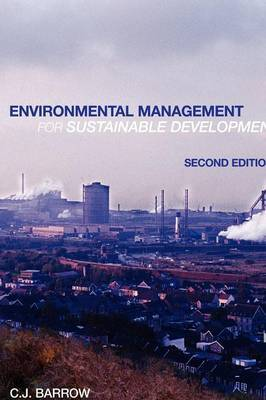 Environmental Management for Sustainable Development by Chris Barrow image