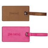 Luggage Tag (Pink/Brown) - Set of Two