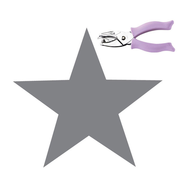 """Fiskars Hand Punch - Star (1/4"""")"""