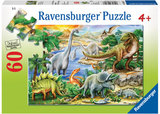 Ravensburger - Prehistoric Life Puzzle (60pc)