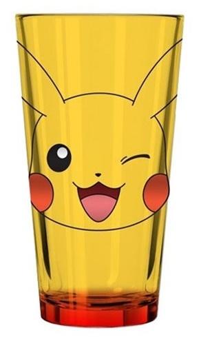 Pokemon: Pikachu Winking Face - Pint Glass image