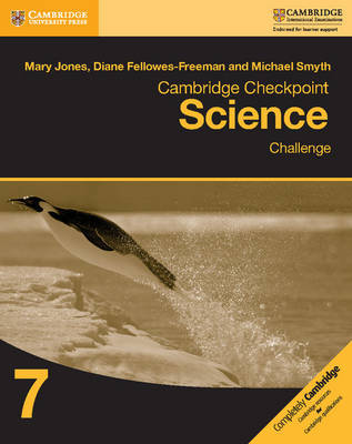 Cambridge Checkpoint Science Challenge Workbook 7 by Mary Jones image